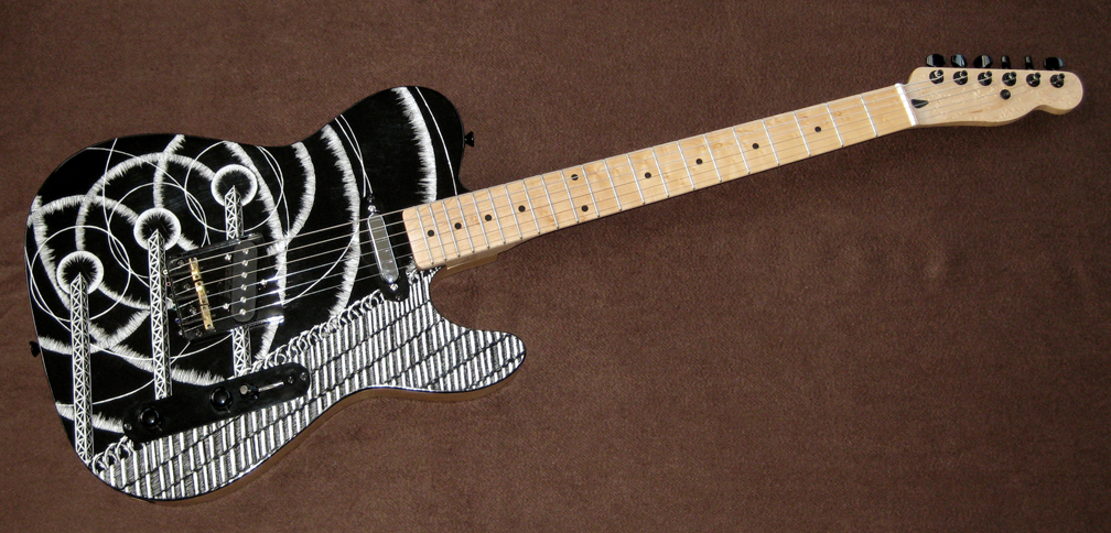 How About An Electric Guitar Art Thread